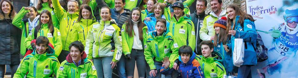 La delegació andorrana va ser un dels equips que van participar en el Trofeu Borrufa, el passat mes de gener.
