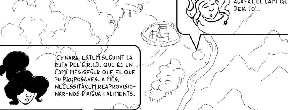Un fragment del còmic.