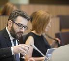 El ministre Eric Jover en una sessió al Consell General.