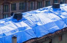 Sis mesos per a reconstruir la teulada de l'edifici Tiffany's