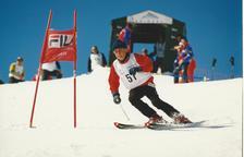 francesc viladomat, un dels grans noms de l'esquí del país, va disputar el memorial.
