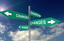 Els canvis a la vida