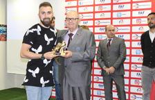 Jordi Rubio, protagonista als premis FAF del 2016