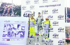 Axel Esteve s'imposa al segon gegant CIT d'Espot