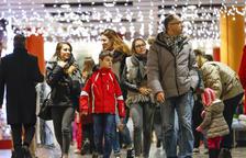 L'arribada rècord de turistes es nota al comerç