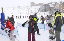 La neu anima les reserves al Pas de la Casa per a les pròximes setmanes