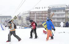 Els hotels de peu de pistes registren plena ocupació el cap de setmana