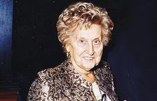 Mor als 90 anys Carme Maestre, empresària i emprenedora