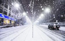 Es normalitza la circulació a Andorra després de les darreres nevades