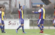 L'FC Andorra pateix per superar el Sant Cugat