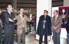 Un moment de la inauguració del primer saló l'any 1997.