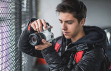 Joel Saura és un amant de la fotografia.