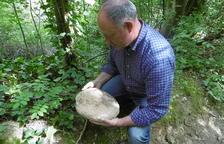 L'escriptor Jordi Pasques és un aficionat a les restes antigues