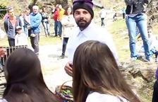Gerard Buenache es va estrenar el dilluns de Pasqua passat com a nou director de les Caramelles