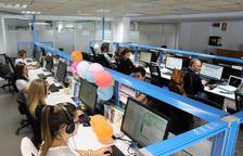 Una seixantena de persones treballen a l'Espic des de l'edifici Els Arcs de la Massana.