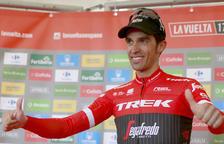 Alberto Contador s'exhibeix en el seu últim ascens