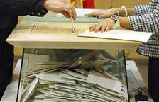 Una urna de les eleccions generals del 2015.