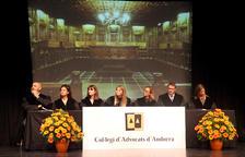 El Col·legi d'Advocats va celebrar ahir la festivitat del seu patró, Sant Raimon de Penyafort.