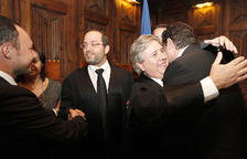 Alfons Alberca durant el jurament, l'11 d'octubre del 2011.