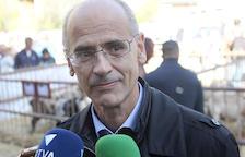 El cap de Govern,Toni Martí, va parlar ahir durant la visita a Canillo a la Fira delBestiar.
