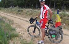 A Santiago pedalejant