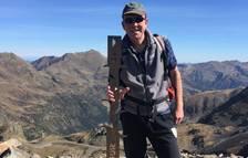 Antoni Fillet és un amant de la muntanya.
