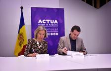 Acord entre Actua i Barcelona Tech City per a la internacionalització de les empreses