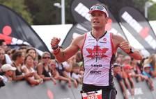 El conseller va participar a l'Ironman de Vichy el 2016