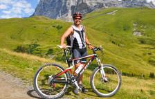 Iñaki Rubio fa bici, esquí i triatló