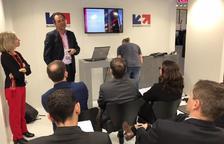 Andorra Telecom presenta el Niu al congrés de telefonia de Barcelona