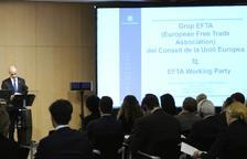Martí defensa les especificitats d'Andorra en l'acord d'associació amb la UE