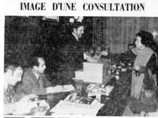 La premsa de l'època es va fer ressò de les primeres eleccions amb vot femení