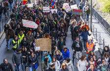 La vaga de funcionaris i la rotonda del Punt de Trobada, als set tuits