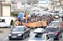 Afectacions a les vies d'accés al país per les protestes a Catalunya