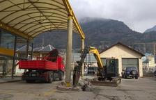 L'antiga estació d'autobús d'Andorra la Vella.