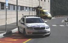 Detingut un jove resident després de tenir un accident de cotxe ebri i drogat