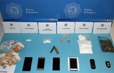 La policia intervé 228 grams de cocaïna