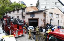 Explosió en un taller de planxisteria a la capital