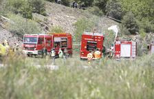 Experts espanyols investiguen l'accident