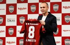El Vissel Kobre fitxa Andrés Iniesta per a tres anys