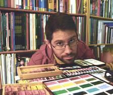 Llibres d'art i capses d'aquarel·les