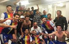 El comiat perfecte de l'FC Andorra per a Ferran Pol i Candi Viladrich