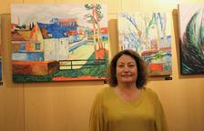 Els colors vius de les obres d'Annabel Alonso al Bingo Star's