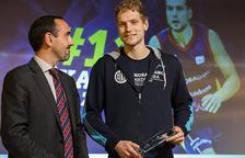 L'afició del MoraBanc premia Blazic