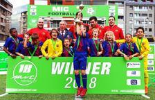 El València, l'Espanyol i el Barça es coronen al MIC