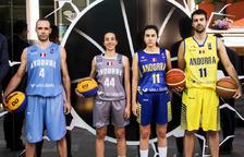 La selecció de bàsquet homenatja els internacionals