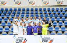 L'Olympique de Marsella aixeca l'Andorra Sènior Cup