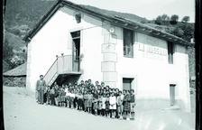Alumnes de l'escola de la Massana l'any 1933