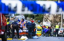 Mor un dels motoristes accidentats a l'Obac i l'altre està en estat crític