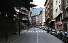 Dos ferits per trets de balins al centre d'Andorra la Vella